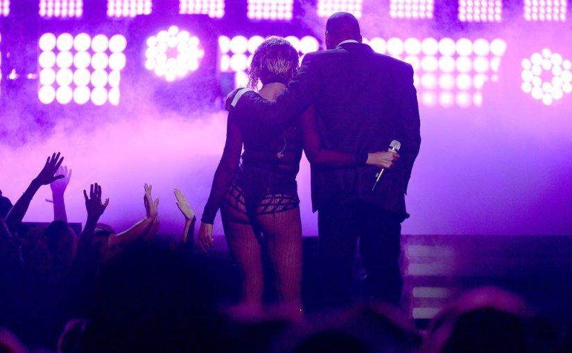 Beyonce y Jay-Z juntos en losGrammys