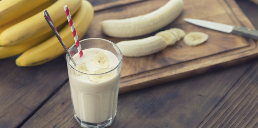 Banana smoothie reloaded; exquisito y saludable