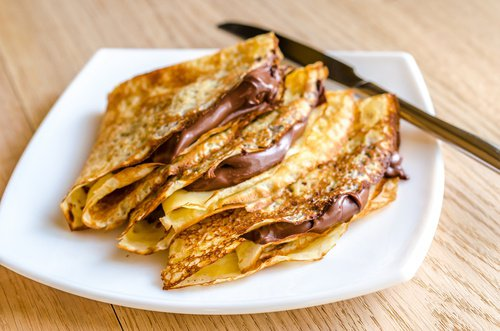 Aprende a hacer crepas de nutella  (desde lamasa)