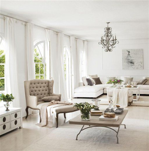 Decor trend: All white. Inspírate con increíbles ideas de esta elegante tendencia