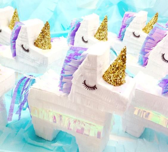 Unicornios: Un increíble tema para fiestas de chicas…ygrandes