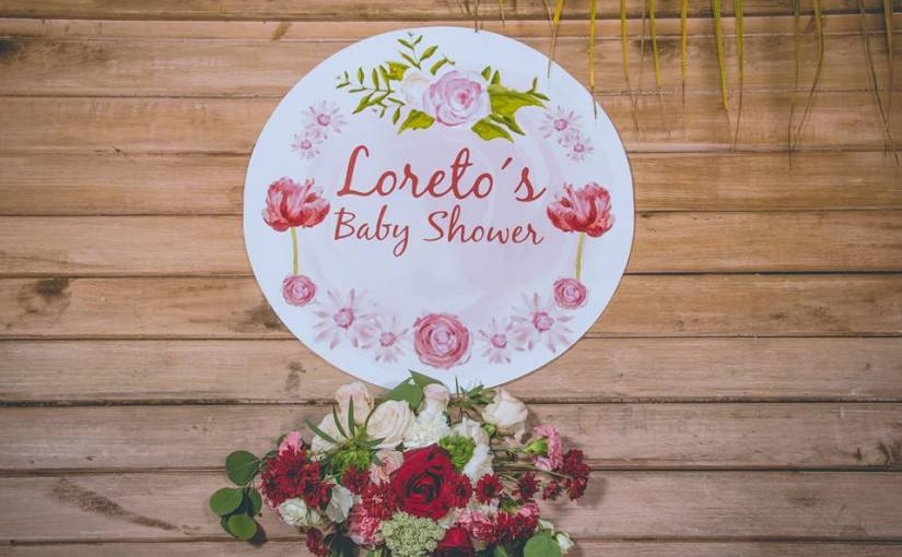 Un baby shower vintage, trendy y muy shabby chic…