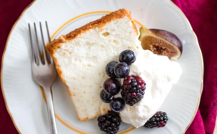 Aprende a hacer el ¨Angel Cake¨….en su versiónlight