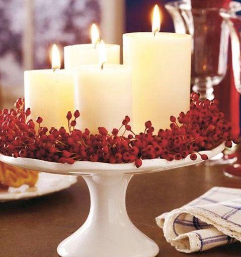 11 increíbles centro de mesa para navidad (y cerocursis)