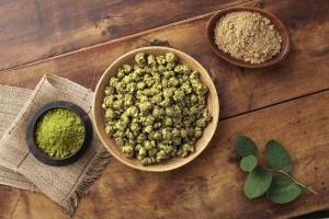 green tea popcorn palomitas de te verde