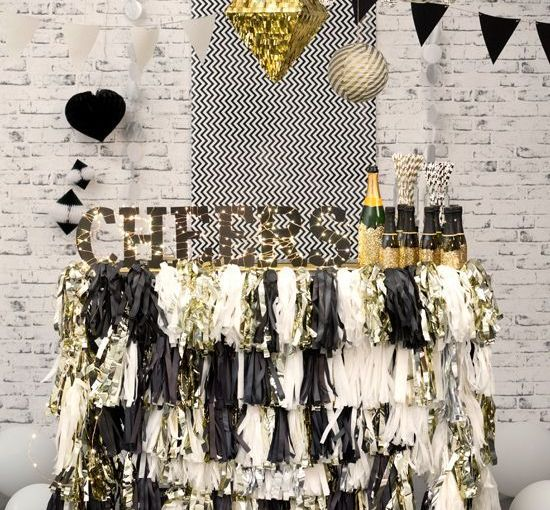 Inspírate para decorar tu fiesta de añonuevo