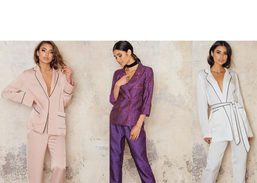 Hablemos de la moda de usar pijamas como ropa (y te digo dóndecomprarla)